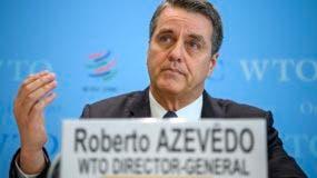 Roberto Azevedo pidió a los miembros de la OMC que intenten evitar una guerra comercial.