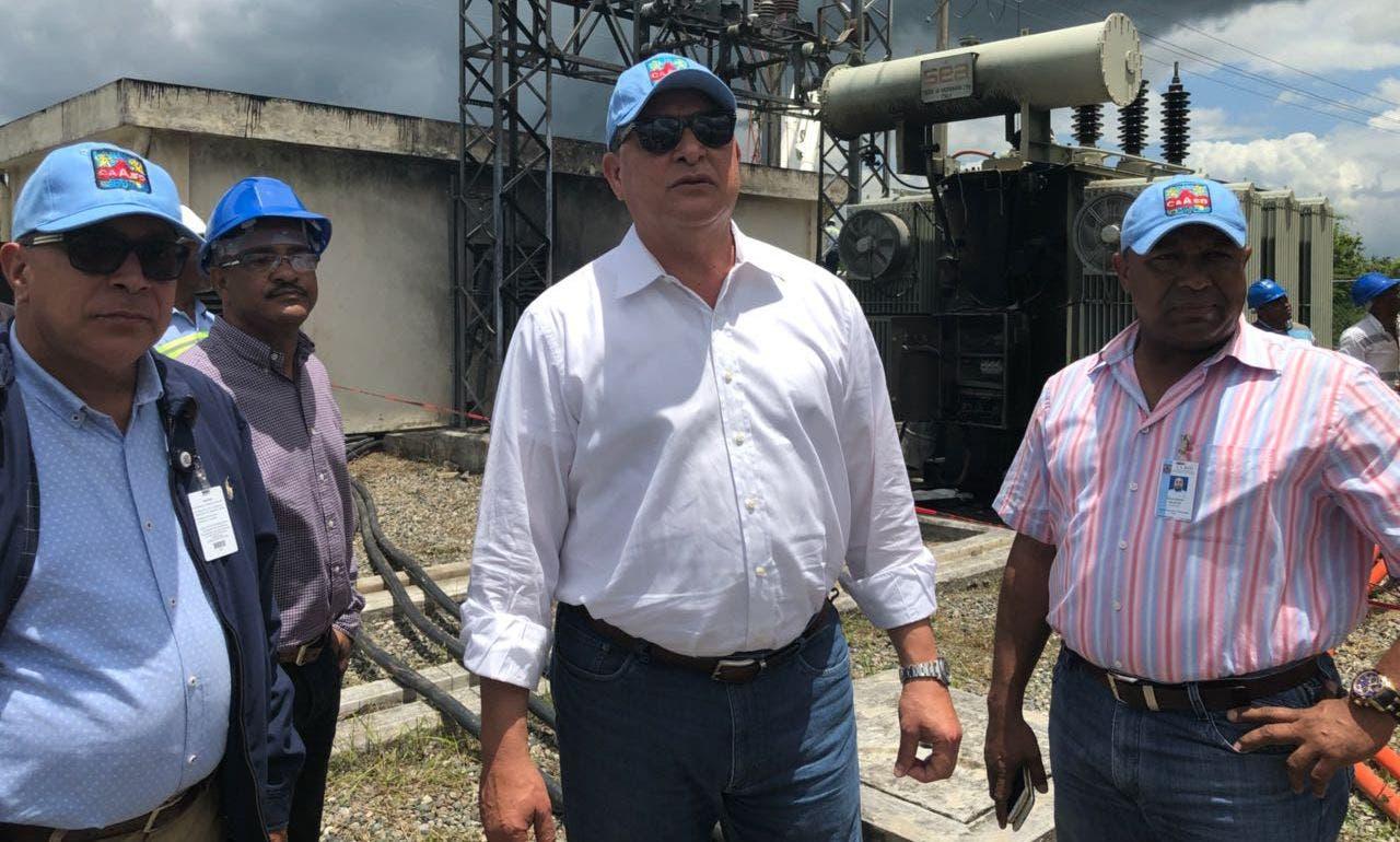 Alejandro Montás dijo que trabajan a fin de restablecer el servicio de agua potable a más de 100 sectores del municipio Santo Domingo Este.