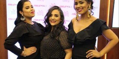Carmen María Rodríguez, María Angélica Ureña y Pamela de León