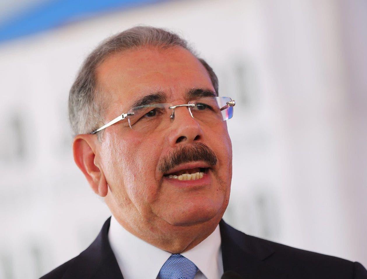 El presidente Danilo Medina envió su felicitación a la población.