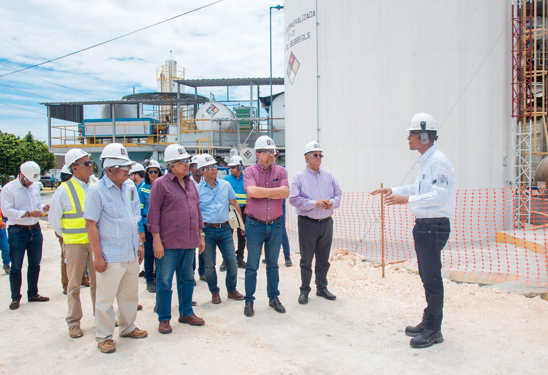 EGE Haina muestra avances nuevosproyectos de generación de energía