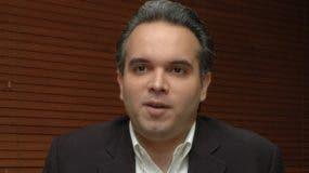 Luis Miguel D Camps, presidente  del PRSD. Archivo.