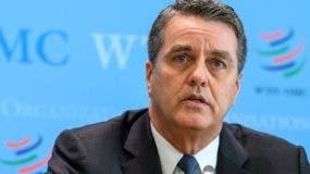 Roberto Azevedo, director general de la Organización Mundial de Comercio (OMC). AP