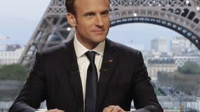 Emmanuel Macron, presidente de Francia. AFP