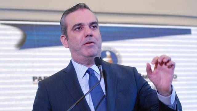 Luis Abinader, aspirante presidencial del PRM.