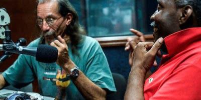 Tony Domínguez y Carlos Francisco Elías. Fundadores de Jazzomanía-radio  y Jazzomanía Jazz  Festival.