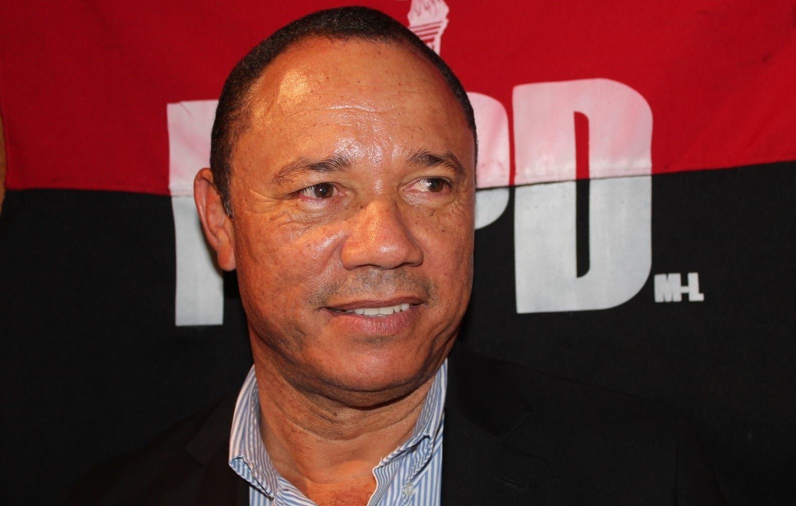 Pablo Ferreiras, vocero nacional del MPD.