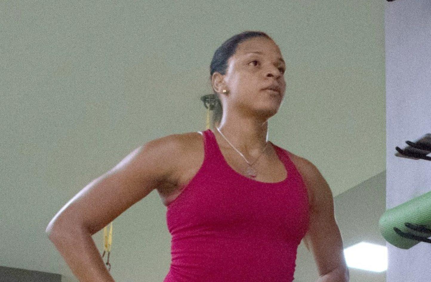 Gina Mambrú, optimista con el avance que  ha tomado el voleibol