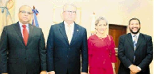 Alejandro Moscoso, Antonio García Padilla, Esther Agelán Casasnovas y Juan H. Reyes.