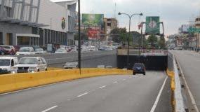 Los días lunes y martes será cerrado al tránsito en el túnel de la avenida 27 de Febrero.