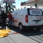 El cuerpo del cobrador fue levantado por miembros de INACIF.