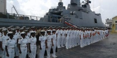La escuadra naval partió de Taiwán a principios de marzo.