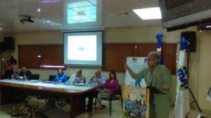 Altagracia Marcelino durante su ponencia en XVI Semana de Vacunación de las Américas.