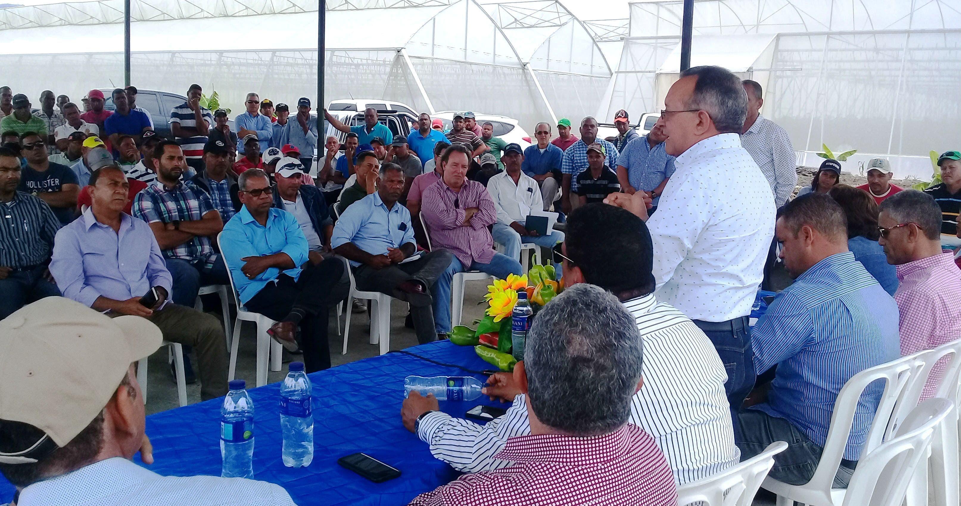 Agricultura implementará veda sanitaria para garantizar producción en Rancho Arriba
