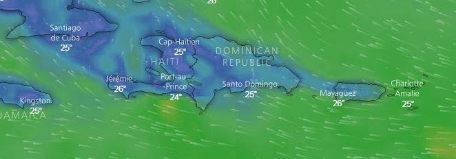 Onamet: continuarán lluvias por vaguada; mantienen alerta meteorológica