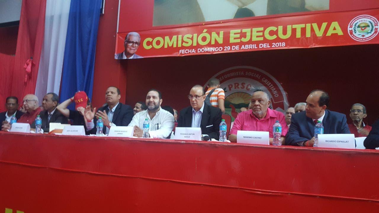 Inicia la reunión de la Comisión Ejecutiva del PRSC