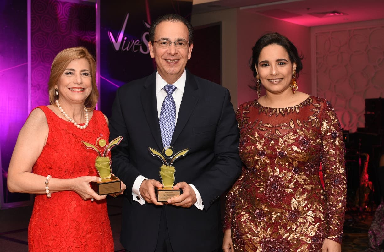 Patricia González, Arnaldo Espaillat y Elizabet Gutiérrez.