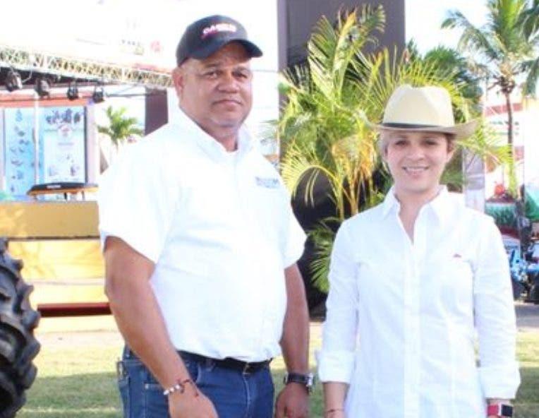 Belarminio Liranzo y Rocío Rivera.
