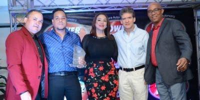 Pedro Fernández, Alan Rodríguez, Mercedes Peralta, José Alfredo Corripio y Justo Gregorio.