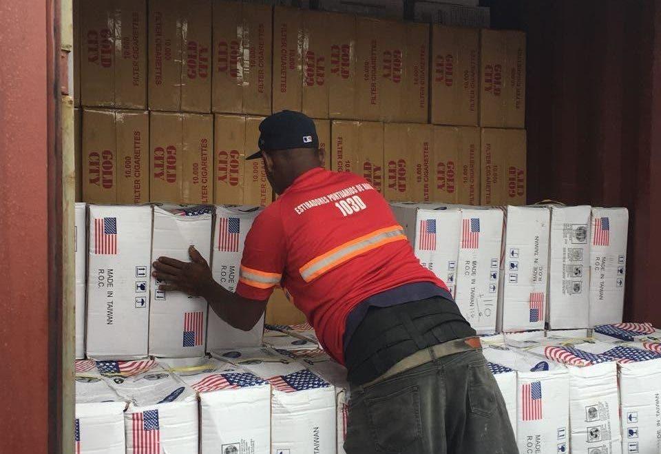 Aduanas incauta cargamento de más nueve millones de cigarrillos en Puerto de Haina