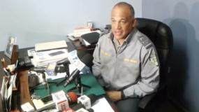 Vocero de la Policía Nacional, coronel Frank Félix Durán Mejía.