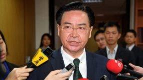 Joseph Wu,  ministro de Relaciones Exteriores de Taiwán. Fuente externa
