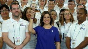 La vicepresidenta de la República, doctora Margarita Cedeño,  es reconocida por su labor para fomentar los valores en las familias.