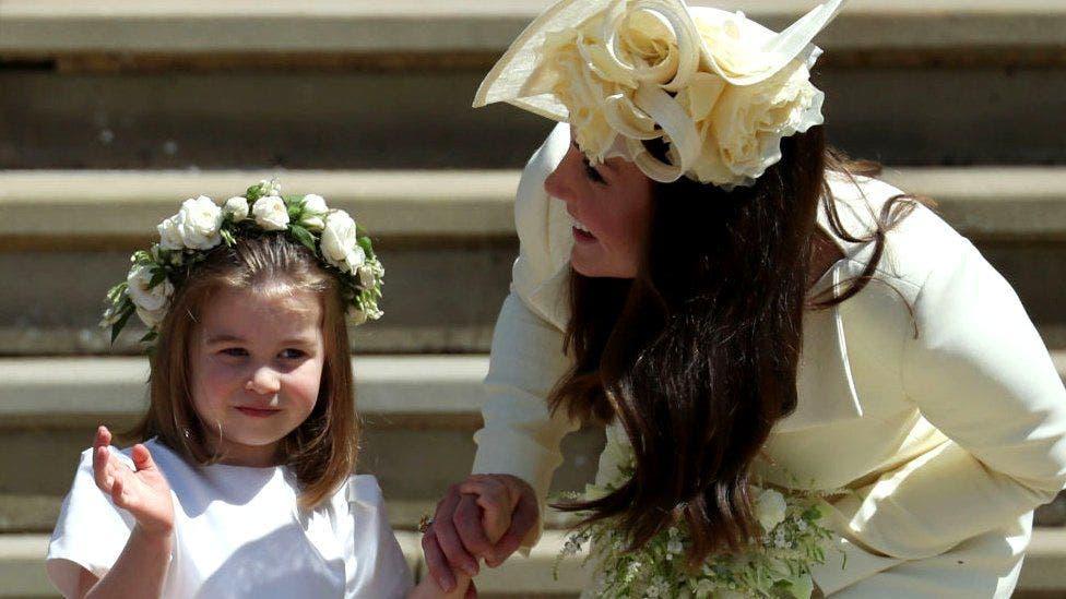 5. Charlotte y George ya habían hecho de pajes en la boda de Pipa Middleton, hermana de la duquesa de Cambridge.
