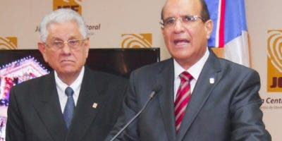 Castaños Guzmán ha sido reiterativo en que realizará unos comicios transparentes..  Archivo.