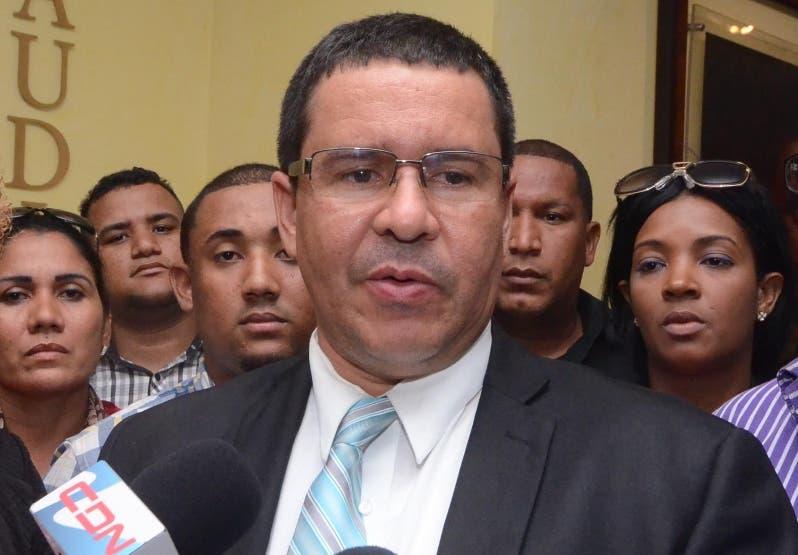El exfiscal Robert   Justo   Bobadilla.  ARCHIVO