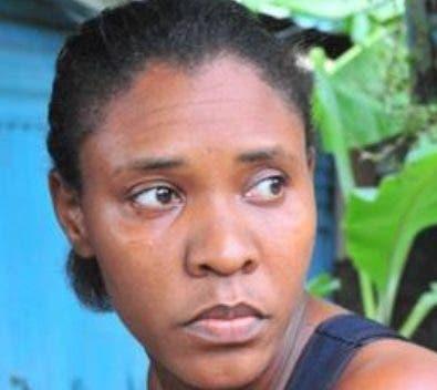 Diolandita Cabrera exige  justiciapor su hija  ana Marmol