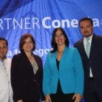 Estanley Lara, Aida Taveras, Ana Patricia Mejía y Miguel Tejada.