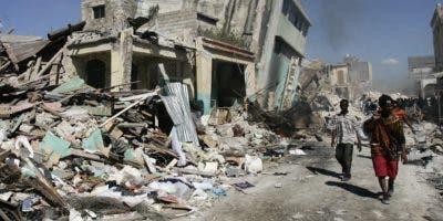 La Unión Europea ha acudido en auxilio de Haití, que sufrió un terremoto en 2010.  archivo