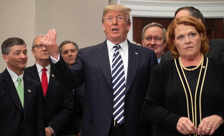 El  brusco viraje diplomático del presidente Donald Trump  sorprendió al mundo.  AP