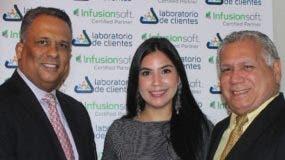 José Luis Infante, Dulce Hernández y Alfredo Hernández.