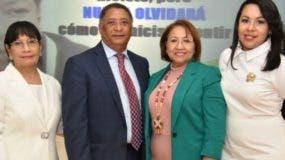 Dinorah Peña Acosta, José Miguel Gómez, Lucy Taveras y Rossy Sabino Peña.