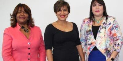 Nurys Veras, Claudia García, Sulin Lantigua y María de los Ángeles Romero.
