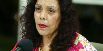 La vicepresidenta Rosario Murillo.
