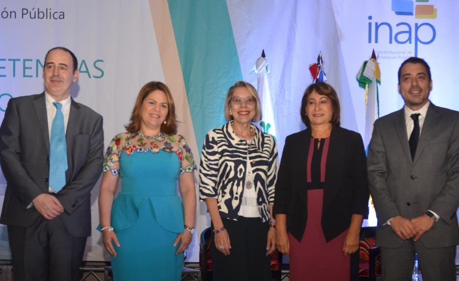 Carles Ramió, Celenia Vidal, Martha Alles, Donatila Germán y Javier Burdman.