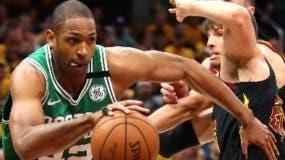 Al Horford en acción con los Celtics de Boston.