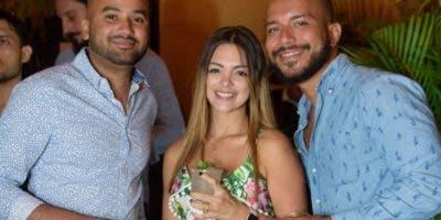 Andy Pérez, Michelle Sanz y Leandro Abreu.
