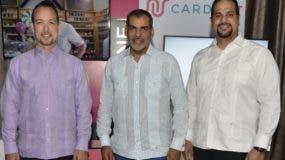 Federico Sanabia, Luis Bencosme y Carlos Jiménez.