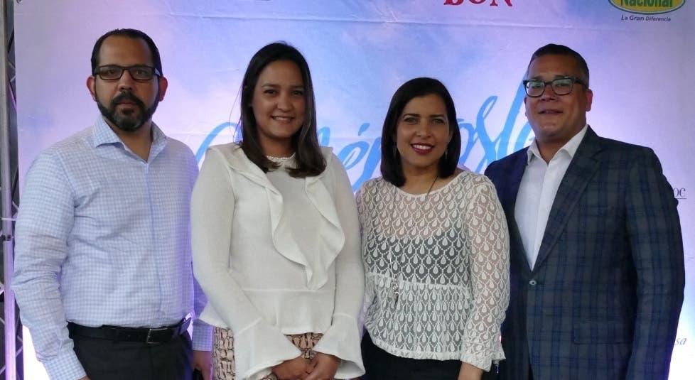 Juan Muñoz, Laura Rodríguez, Cynthia Modesto y José Antonio López.