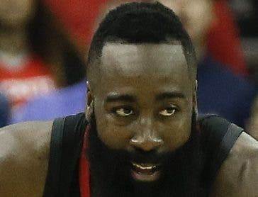 James Harden es figura clave de los Rockets.  AP