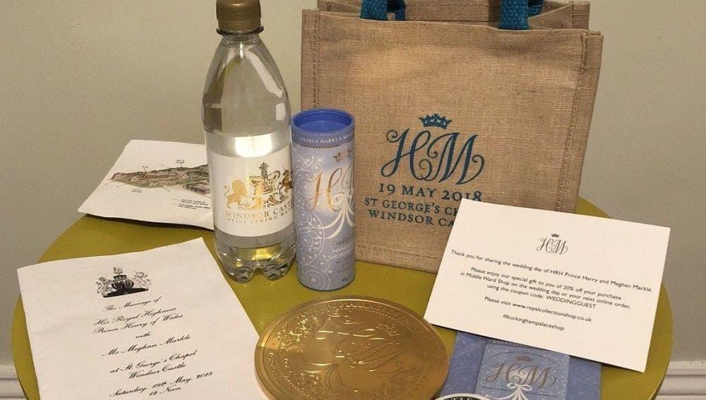 Subastan en internet los regalos para los invitados a la boda real de Windsor