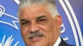 Miguel Vargas espera la fecha de las elecciones en la ONU.