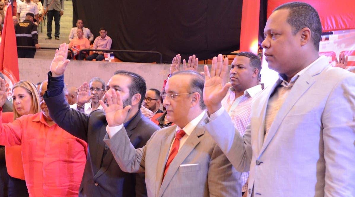 Antún  Batlle      y  demás autoridades electas fueron  juramentadas en el acto.