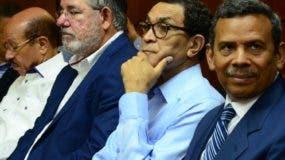 Algunos  de los imputados del caso Odebrecht