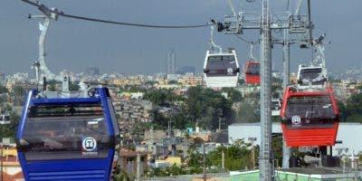 La línea I del Teleferico de Santo Domingo fue inaugurada el pasado 22 de mayo. El presidente Medina anunció hoy la Línea 2 que dará servicios a residentes en Los Alcarrizos y otros sectores aledaños.Foto: El Nacional/ Jorge González.