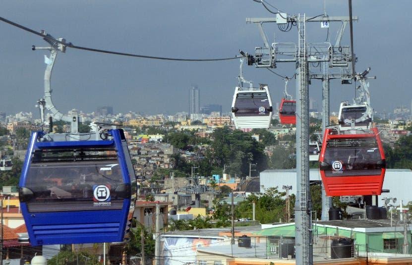 Teleferico de Santo Domingo. El Nacional/ Jorge Gonzalez
